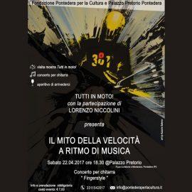 La musica e l'arte: il chitarrista fingerstyle Lorenzo Niccolini, arriva al PALP!