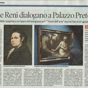 Goya e Reni dialogano a Palazzo Pretorio